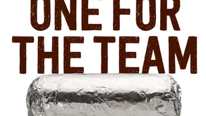 Chipotle Fundraiser - Sept. 10th