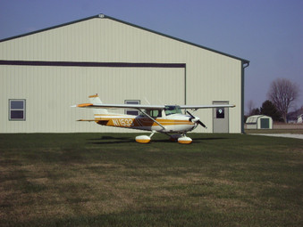 Hangar and home on your lot!