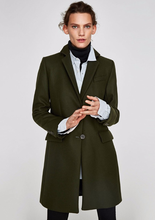 Style androgyne. Les pinces donnent