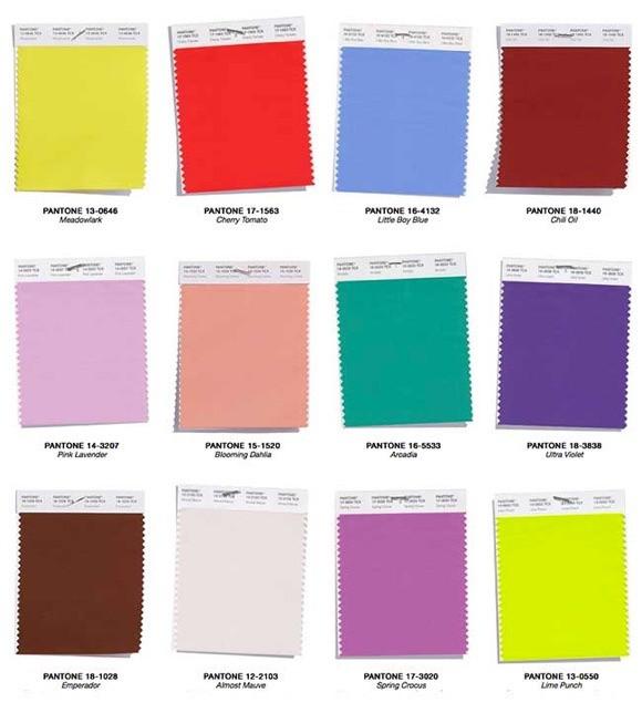Fashion Color Trend Report PANTONE
