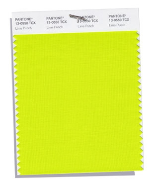 Lime Punch PANTONE 13-0550
