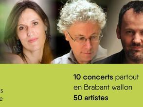 Le festival musical du Brabant wallon du 22.09 au 20.10.17