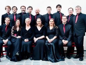 Le Choeur de chambre de Namur pour le dernier concert du Festival Ars in Cathedrali, mardi 29.08