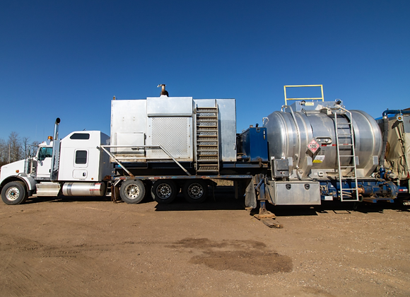 38,000,000 BTU Frac Water Heater