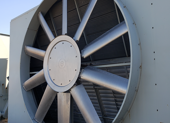 (3) Vertical Compressor Coolers