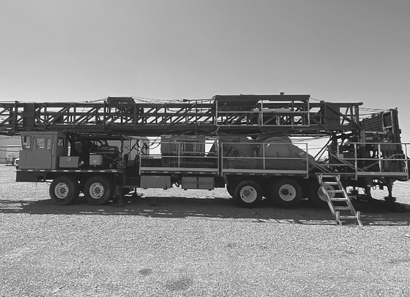 2012 Service King 475 Workover Rig