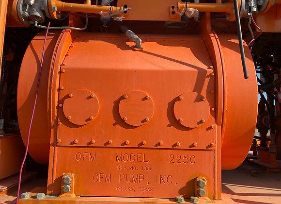 (20) OFM 2250 Triplex Power Ends