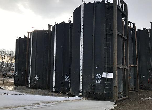 (300+) 400bbl Sloped Tanks