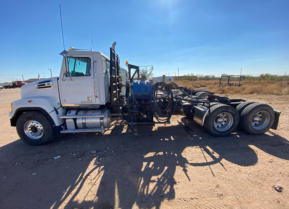 2018 Western Star Pump Truck w/ Trailer