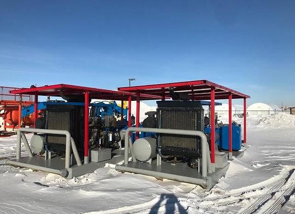 (2) JWS 340 Pumps