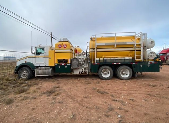 2018 Kenworth Hot Oil Truck
