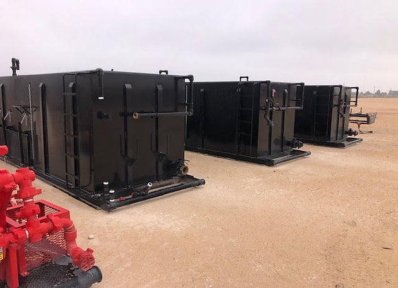 (4) 2020 120bbl Reverse Unit Pits