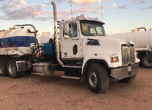 2018 Western Star Pump Truck w/ Trailer