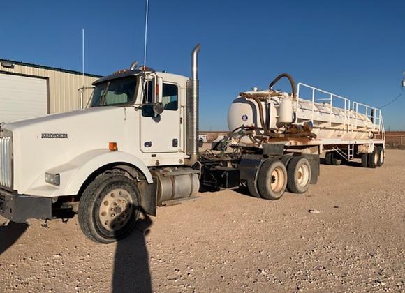 2014 Kenworth Vacuum Truck