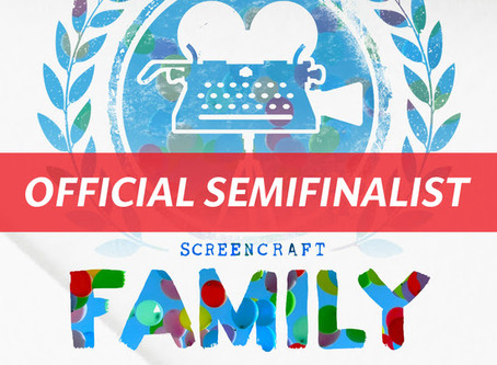 SCREENCRAFT FAMILY-FRIENDLY SEMIFINALIST!