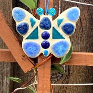 Mosaic Butterfly Garden Ornament