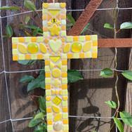 Yellow Mosaic Cross