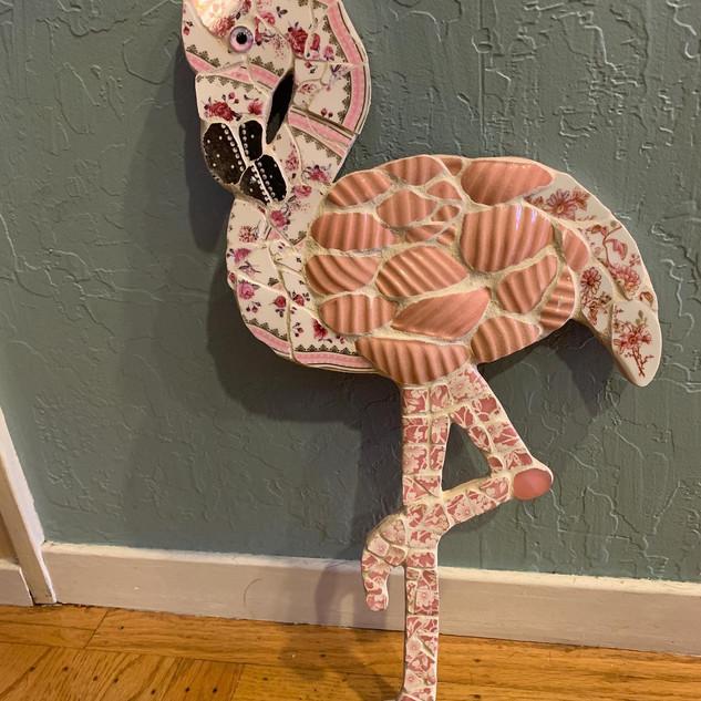 Mosaic Flamingo
