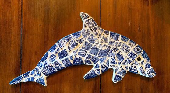 Delftware Dolphin