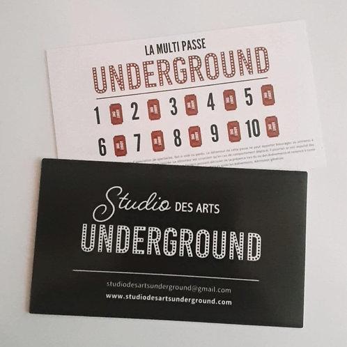 Multi passe Underground