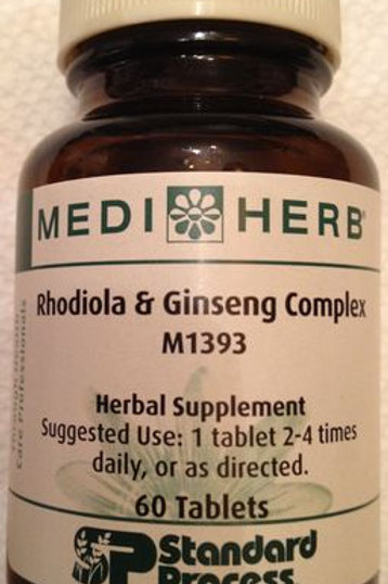Mediherb - Rhodiola & Ginseng Complex - 60 Tablets