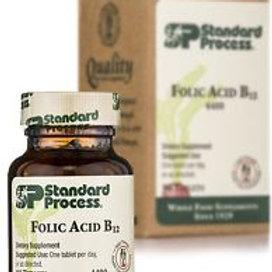 Standard Process - Folic Acid B12 - 90 Tablets