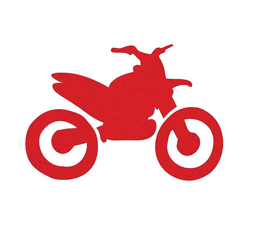 Stunt Cycle - red
