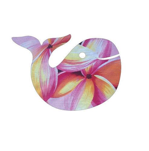 whale pin board - franjipani