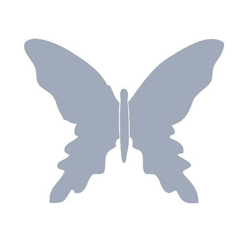 Butterfly pin board -cool grey