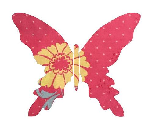 Butterfly pin board -flourish