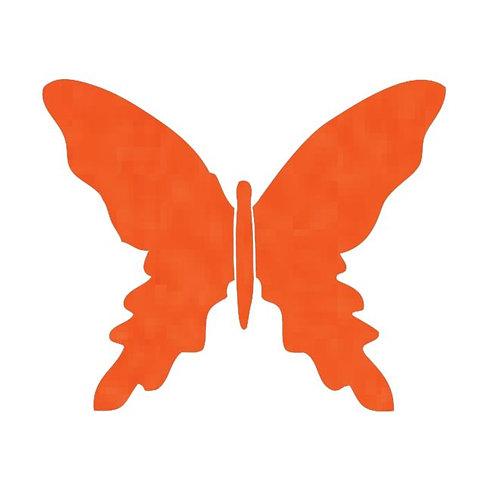 Butterfly pin board -tangerine