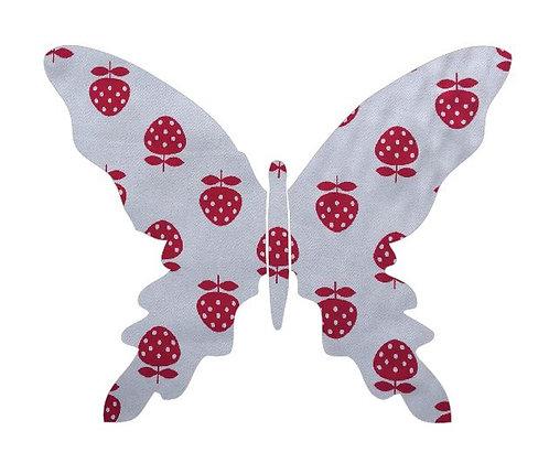 Butterfly pin board -strawberry
