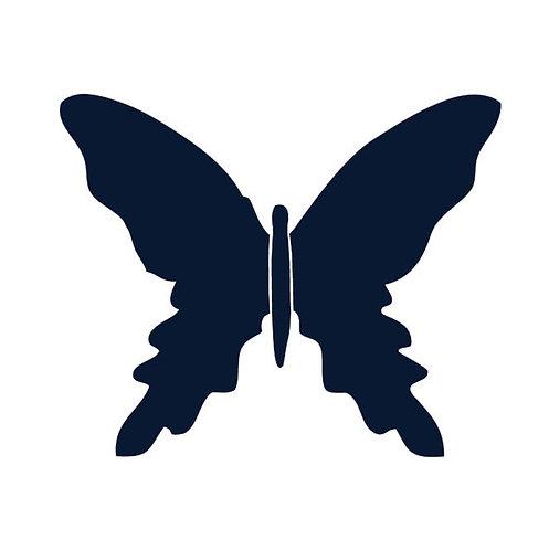 Butterfly pin board -navy