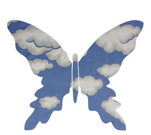 Butterfly pin board -blue yonder