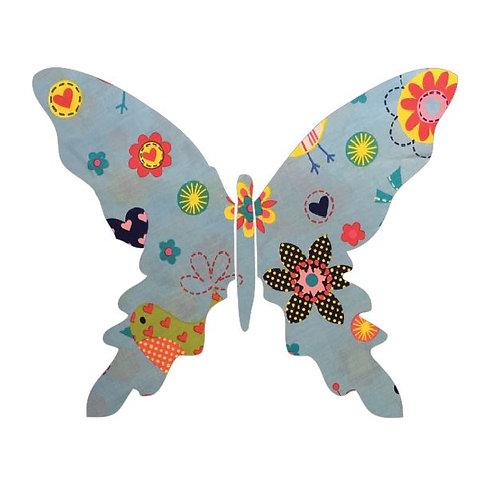 Butterfly pin board -happy place