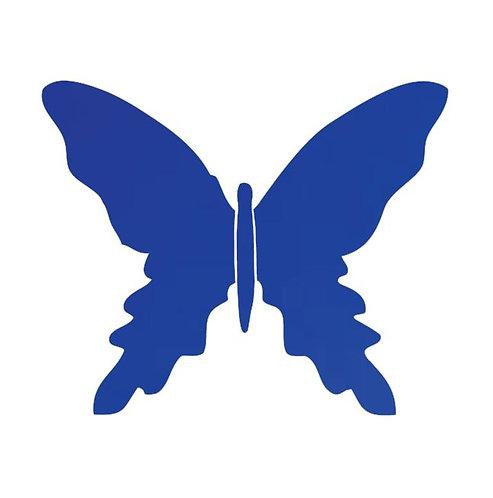 Butterfly pin board -royal blue