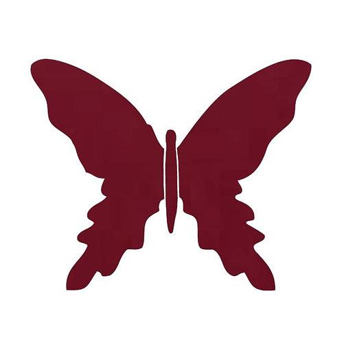 Butterfly pin board -burgundy