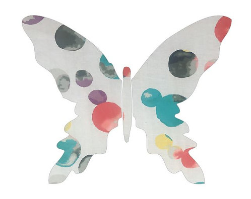 Butterfly pin board -abstract