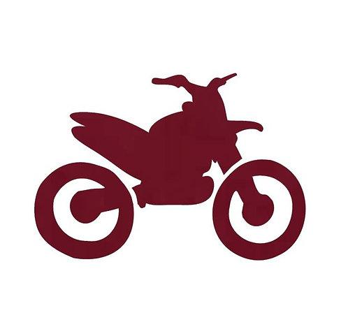 Stunt Cycle - burgundy