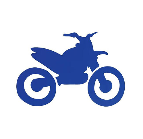 Stunt Cycle - royal blue