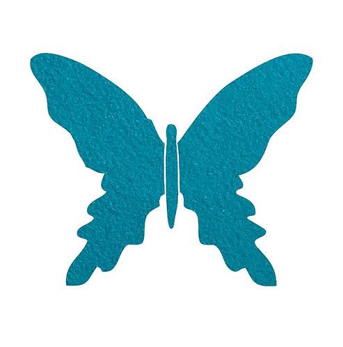 Butterfly pin board -teal