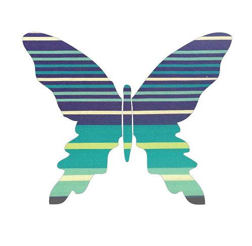 Butterfly pin board -horizon