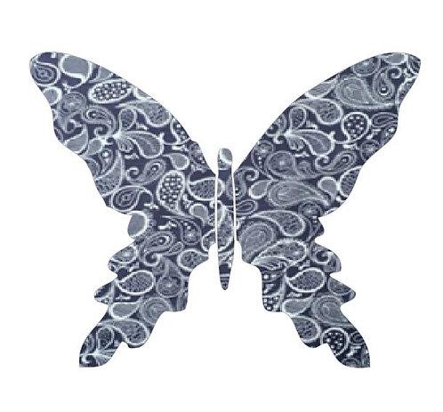 Butterfly pin board -paisley