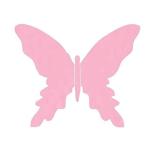 Butterfly pin board -pale pink