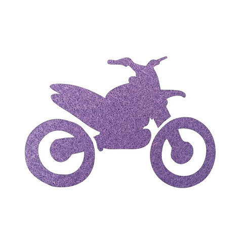Stunt Cycle - mauve