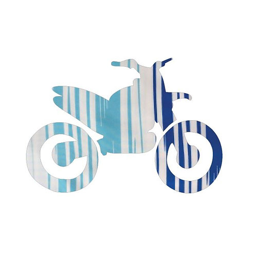 Stunt Cycle - blue streak