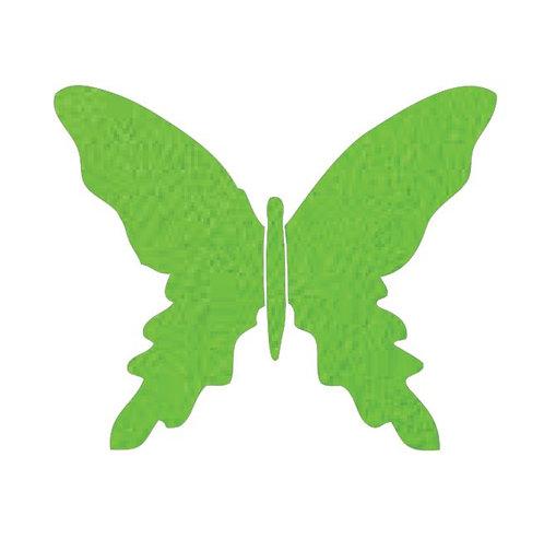 Butterfly pin board -lime