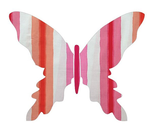 Butterfly pin board -pop stripe