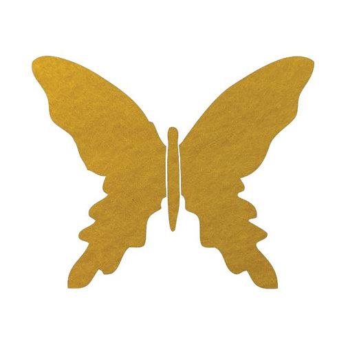 Butterfly pin board -yellow