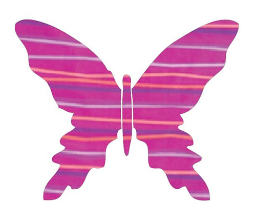 Butterfly pin board -candy
